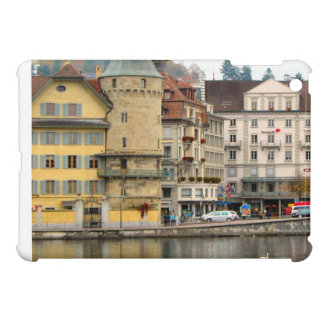 Luzern Houses on the waterfront iPad Mini Covers