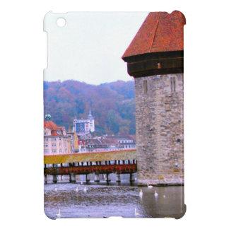 Luzern Mill bridge tower iPad Mini Case