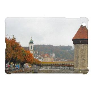 Luzern Mill tower and Jesuit Church iPad Mini Cases