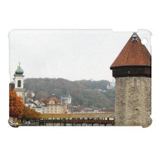 Luzern Old bridge and Mill Tower iPad Mini Case