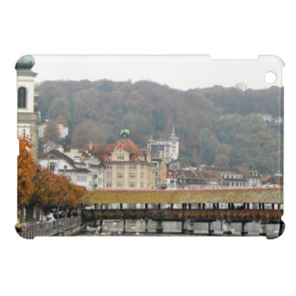 Luzern Old Bridge and town Cover For The iPad Mini