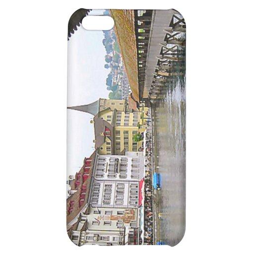 Luzern, old bridge and town iPhone 5C case
