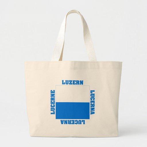 Luzern Switzerland Canton Flag Bag