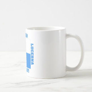 Luzern Switzerland Canton Flag Classic White Coffee Mug
