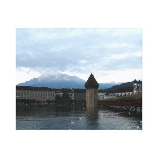Luzern, Switzerland Canvas Print