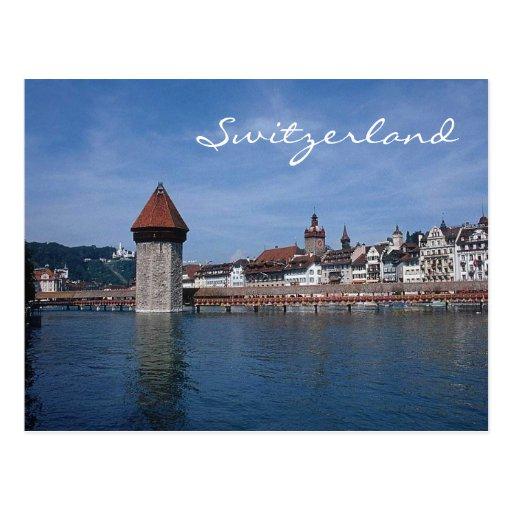 Luzern, Switzerland-Postcard