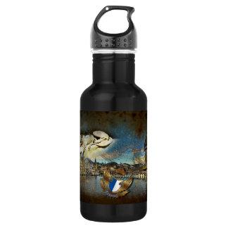 LUZERN Vintage Grunge - 532 Ml Water Bottle