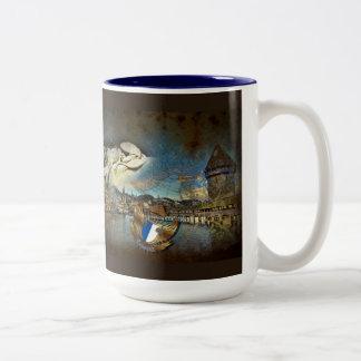 LUZERN Vintage Grunge - Coffee-, Tea Mug