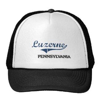 Luzerne Pennsylvania City Classic Mesh Hat