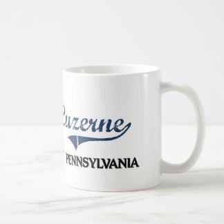 Luzerne Pennsylvania City Classic Mugs