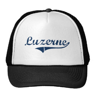 Luzerne Pennsylvania Classic Design Trucker Hats