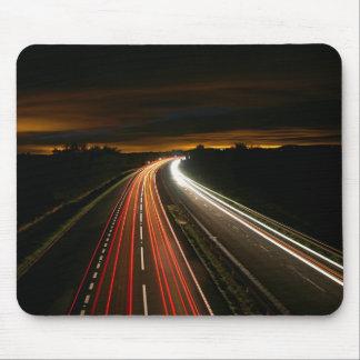 Luzes na Auto estrada Mousepad
