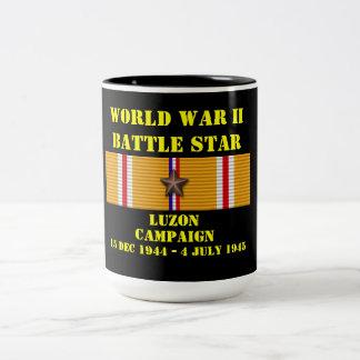 Luzon Campaign Two-Tone Mug