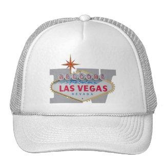 LV Initial with Las Vegas Sign Logo Cap
