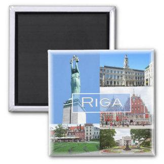 LV * Latvijas Republika  Latvia Lietuva - Riga Magnet