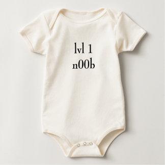 lvl 1n00b baby bodysuit
