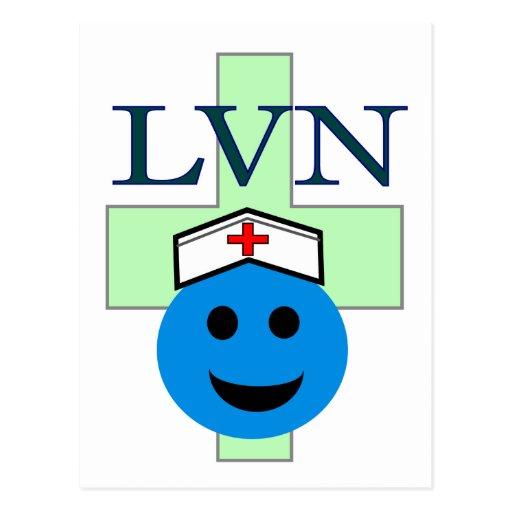 """LVN """"Licensed Vocational Nurse"""" gifts Postcards"""