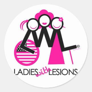 LWLStateside Classic Round Sticker