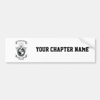 LXA Coat of Arms Bumper Sticker