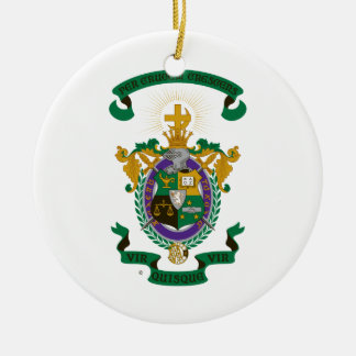 LXA Coat of Arms Christmas Ornament