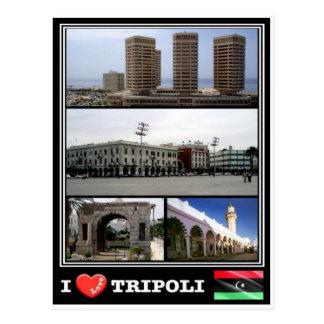 LY Libya - Tripoli - Postcard