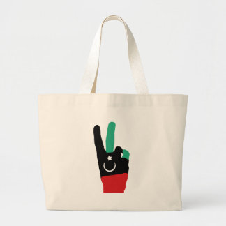 Lybia Victory Hand - Gaddafi end Bags