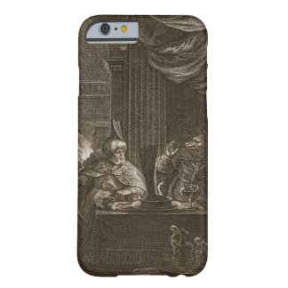 Lycaon Metamorphosed into a Wolf, 1731 (engraving) Barely There iPhone 6 Case