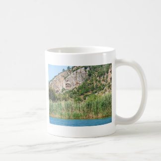 Lycian Rock Tombs, Dalyan,Turkey Coffee Mug