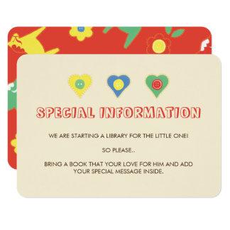 Lycka Till Information Inserts Card