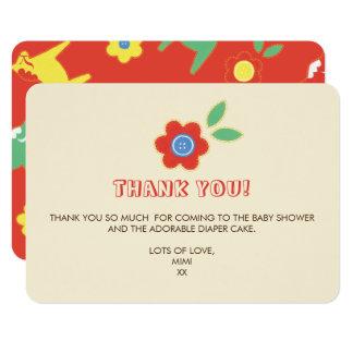Lycka Till Thank You Card
