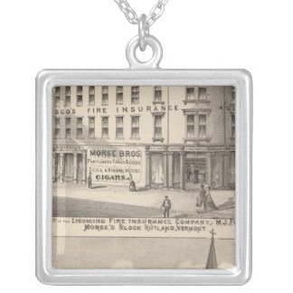 Lycoming Fire Insurance Company Silver Plated Necklace