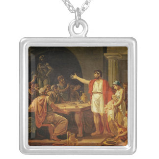 Lycurgus Showing the Ancients of Sparta their Silver Plated Necklace