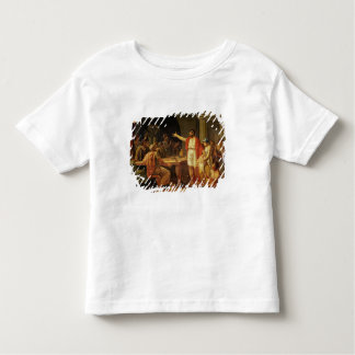 Lycurgus Showing the Ancients of Sparta their Toddler T-Shirt