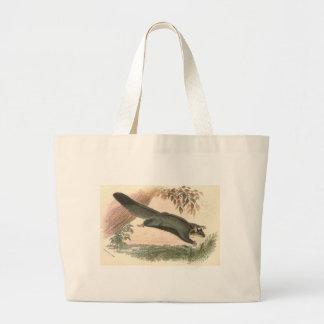 Lydekker - Squirrel Flying Phalanger/Possum Large Tote Bag