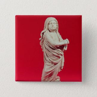 Lydia Dwight Resurrected, 1674 15 Cm Square Badge