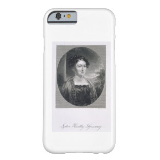 Lydia Huntley Sigourney (1791-1865), engraved by B Barely There iPhone 6 Case
