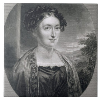 Lydia Huntley Sigourney (1791-1865), engraved by B Tile