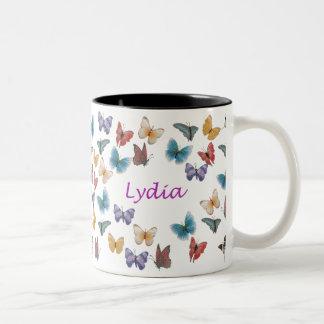 Lydia Two-Tone Coffee Mug