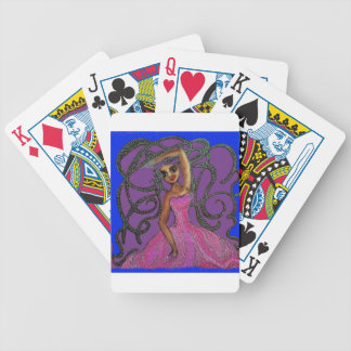 Lydia's Midnight Dance at the Prom Bicycle Playing Cards