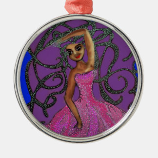 Lydia's Midnight Dance at the Prom Christmas Ornament