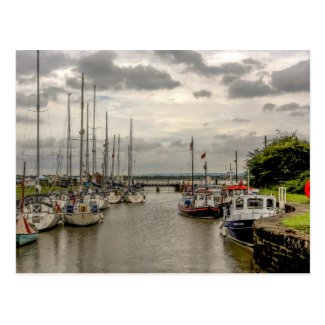 Lydney Harbour Postcard