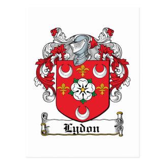 Lydon Family Crest Postcard