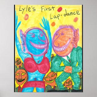 Lyle's First Lap-dance Print