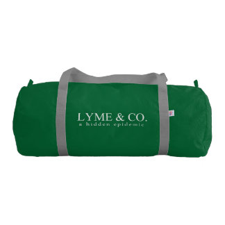 Lyme & Co. | Lyme Disease Awareness Gym Duffel Bag