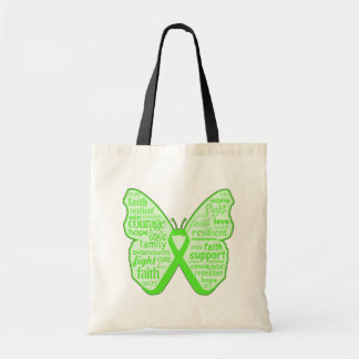 Lyme Disease Awareness Butterfly Ribbon