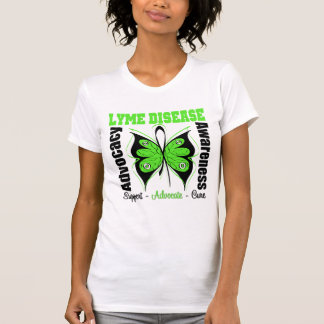 Lyme Disease Awareness Butterfly Shirts