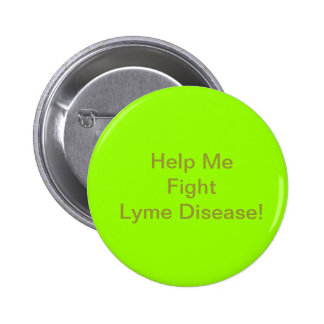 Lyme Disease Awareness Button