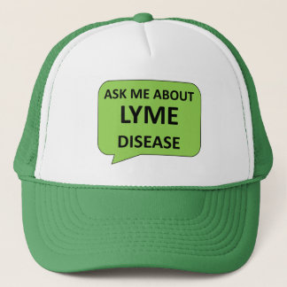 Lyme disease awareness cap