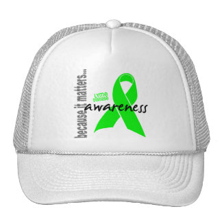 Lyme Disease Awareness Mesh Hat