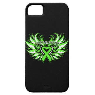 Lyme Disease Awareness Heart Wings Barely There iPhone 5 Case